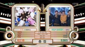 Music Bank 2/12: TWICE giành cúp thứ 12 quá dễ dàng dù vắng mặt