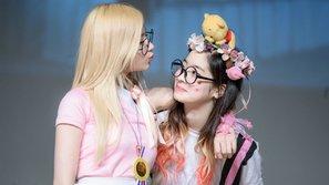 Có một nàng idol Kpop mắc chứng... nghiện hôn