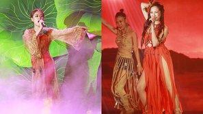 """Hoàng Thùy Linh và Bảo Anh cực sexy, """"đốt cháy"""" sân khấu"""