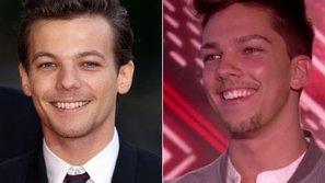 Quán quân X-Factor khiến nhiều người lầm tưởng là anh em sinh đôi với Louis Tomlinson