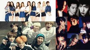 Top những idol tỏa sáng và thành công nhất trong năm 2016: Dàn anh tài đông đủ