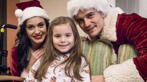 Katy Perry và bạn trai đóng giả ông bà Claus ghé thăm các bệnh nhân nhí