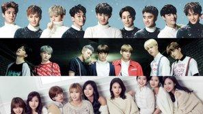 """""""Bài hát Kpop của năm 2016"""" lộ diện qua bình chọn của các chuyên gia trong ngành"""