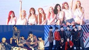Nhóm nhạc nào giữ kỷ lục về số lần chiến thắng trên các show âm nhạc trong lịch sử Kpop?
