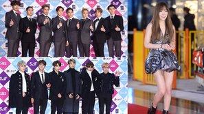Điểm danh những bộ cánh ấn tượng nhất trên thảm đỏ SBS Gayo Daejun 2016