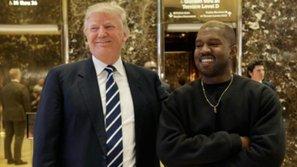 Kanye West đến gặp Donald Trump để...bàn chuyện đời
