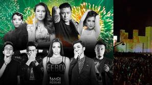 Những lễ hội âm nhạc countdown hoành tráng đón năm mới 2017