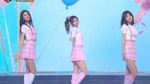 """Tzuyu (Twice) gây """"bão"""" khi trình diễn cùng Hani và Seolhyun tại MBC Gayo Daejun"""
