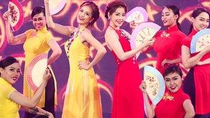 Hoàng Thùy Linh và Chi Pu đọ vẻ gợi cảm trong lần đầu song ca