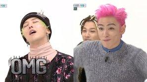 """Cười vỡ bụng với màn """"đại náo"""" của Big Bang khi lần đầu xuất hiện tại """"Weekly Idol"""""""