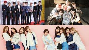 EXO, BTS, Twice và nhiều idol khác tiếp tục hội ngộ tại