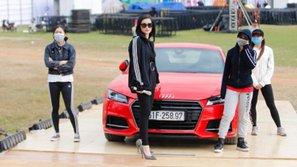 Đông Nhi gây sốc khi đi xe 13 tỷ đến tổng duyệt đêm nhạc hát cùng GOT7