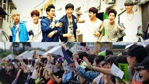 Đêm nhạc có sự góp mặt của GOT7 đã sẵn sàng khuấy động cùng hàng nghìn bạn trẻ