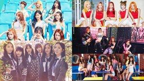 Top những bài hát được yêu thích nhất trên MelOn của các nhóm nhạc nữ trong năm 2016