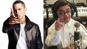 Sửng sốt với bản rap cực đỉnh của cậu bé bị bệnh hiểm nghèo khiến Eminem phải ngả mũ
