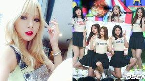 HyunA trổ tài viết nhạc cho đàn em cùng công ty