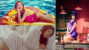 Loạt hình ảnh thường gặp trong MV của các nhóm nữ theo đuổi style gợi cảm