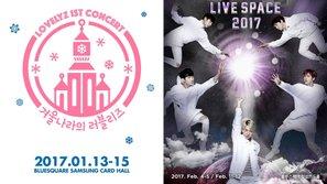Đầu năm cùng đón 2 concert hoành tráng từ Lovelyz và B1A4