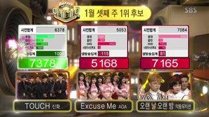 Inkigayo 15/1: Big Bang ngậm ngùi chào tạm biệt, Shinhwa giành chiến thắng đầu tiên