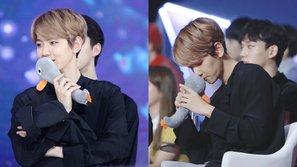 Làm EXO-L, nghĩa là có lúc bạn phải chấp nhận ganh tị với... một chú vịt bông thế này đây!