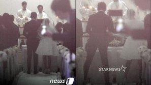 Những hình ảnh đầu tiên bên trong lễ cưới thế kỉ của Rain và Kim Tae Hee