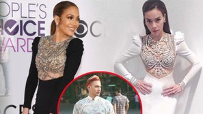 Sau Lý Quí Khánh, Hà Hồ lên tiếng về chiếc váy nhái của Jennifer Lopez