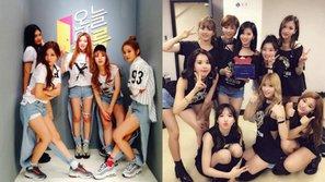 """Xem những hình ảnh này, còn ai dám nói TWICE và Red Velvet là """"kình địch không đội trời chung""""?"""