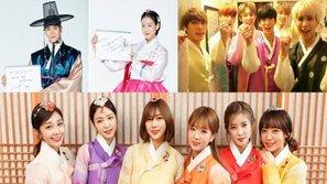Dàn sao Hàn lung linh trong trang phục Hanbok, gửi lời chúc mừng năm mới đến khán giả