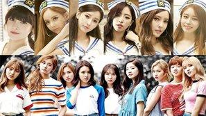 Netizen tranh cãi với câu hỏi: Liệu TWICE có thể sánh ngang với T-ara ở thời hoàng kim?