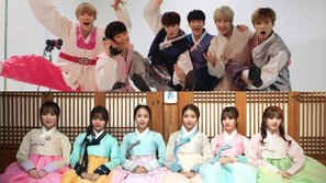 Sao Kpop đua nhau diện Hanbok chúc mừng năm Đinh Dậu