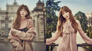Taeyeon đẹp mê hồn trong bộ ảnh tạp chí mới