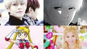 Điểm danh loạt idol là nhân vật anime bước ra ngoài đời thực