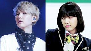 Fan phát sốt trước màn hóa thành nữ sinh của thành viên ngầu nhất BTS