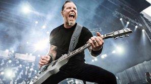 James Hetfield và ban nhạc rock huyền thoại Metallica