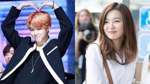 Netizen lại bàng hoàng trước tin đồn hẹn hò của Jimin (BTS) và Seulgi (Red Velvet)