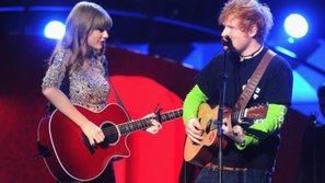 Ed Sheeran - Taylor Swift đồng loạt lên Top Billboard: Cả làng cùng vui