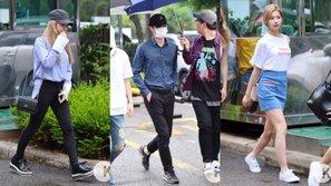 Style cho ngày mưa ẩm ướt của các idol xứ củ sâm