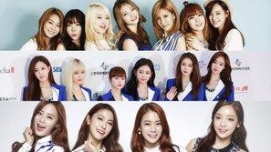 Ba girlgroup bị netizen Hàn ghẻ lạnh khi dính scandal bắt nạt