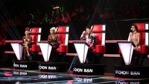 Vừa ra mắt, The Voice gây tranh cãi từ dàn HLV tới thí sinh