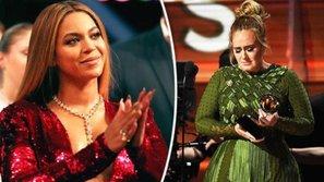 Adele và Beyoncé đồng loạt rơi lệ: Nước mắt của những nhà vô địch!