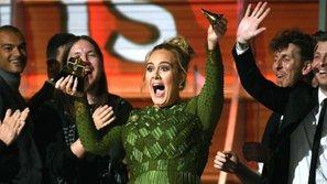 Rating của Grammy 2017 tăng cao đột biến nhờ Adele