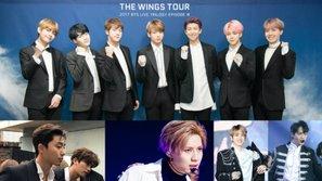 """EXO, SHINee và dàn sao """"Hwarang"""" đến dự concert của BTS?"""