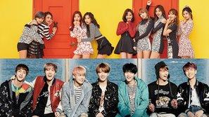 """""""Knock Knock"""" vs. """"Not Today"""": Cuộc chạm trán bất ngờ giữa TWICE và BTS"""