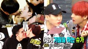 """4 nụ hôn tưởng """"điên rồ"""" nhưng chỉ fan Kpop mới hiểu"""