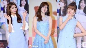 Cùng diện váy xanh, mỹ nhân Hàn nào mặc đẹp nhất?