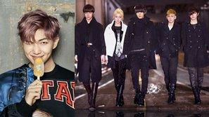 Bài hát của NU'EST leo lên #1 BXH nhờ Rap Monster (BTS) nhắc về nó trên truyền hình