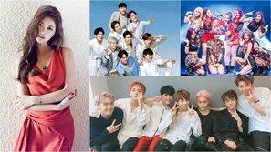 EXO, BTS, TWICE, Suzy lọt top 10 ngôi sao quyền lực nhất Hàn Quốc 2017