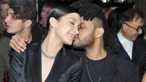 The Weeknd không hẹn mà gặp tình cũ tại show diễn thời trang