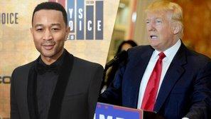 John Legend: Tôi mong thời đại của Trump sớm kết thúc