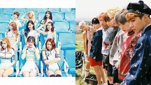Khép lại trận chiến hot nhất tháng: BTS dừng quảng bá, đến lượt TWICE ôm cúp đều đều